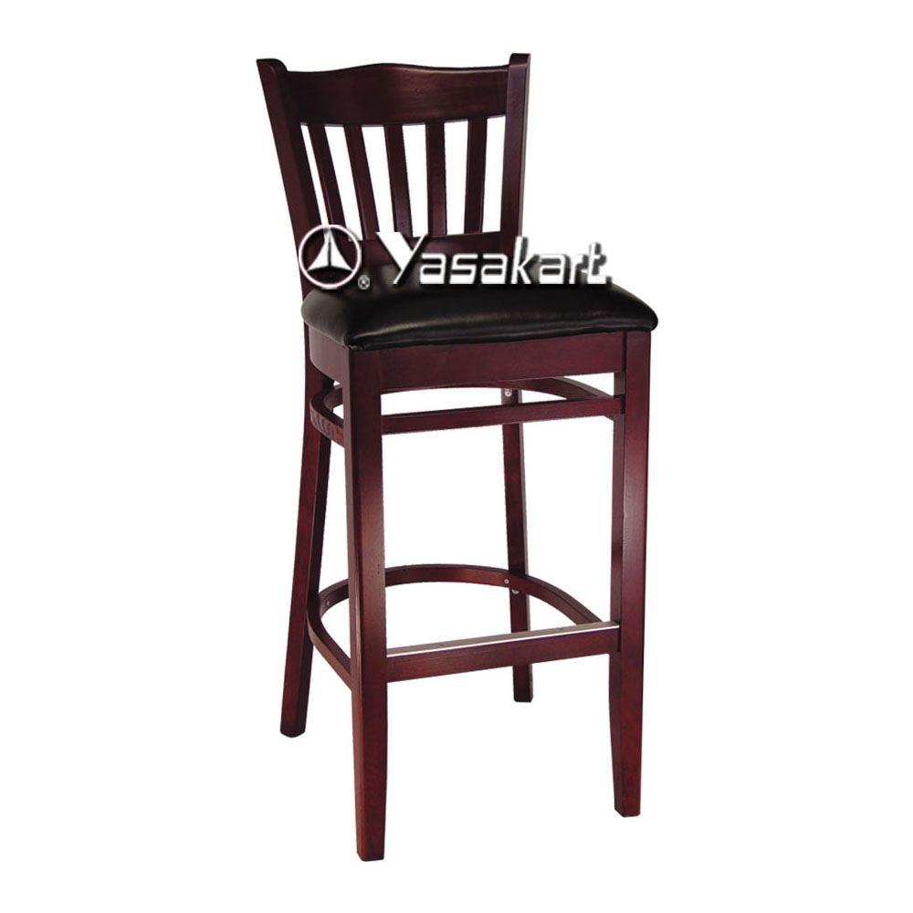 Standard Chair 005 Barreau Wood Barstool Restaurant