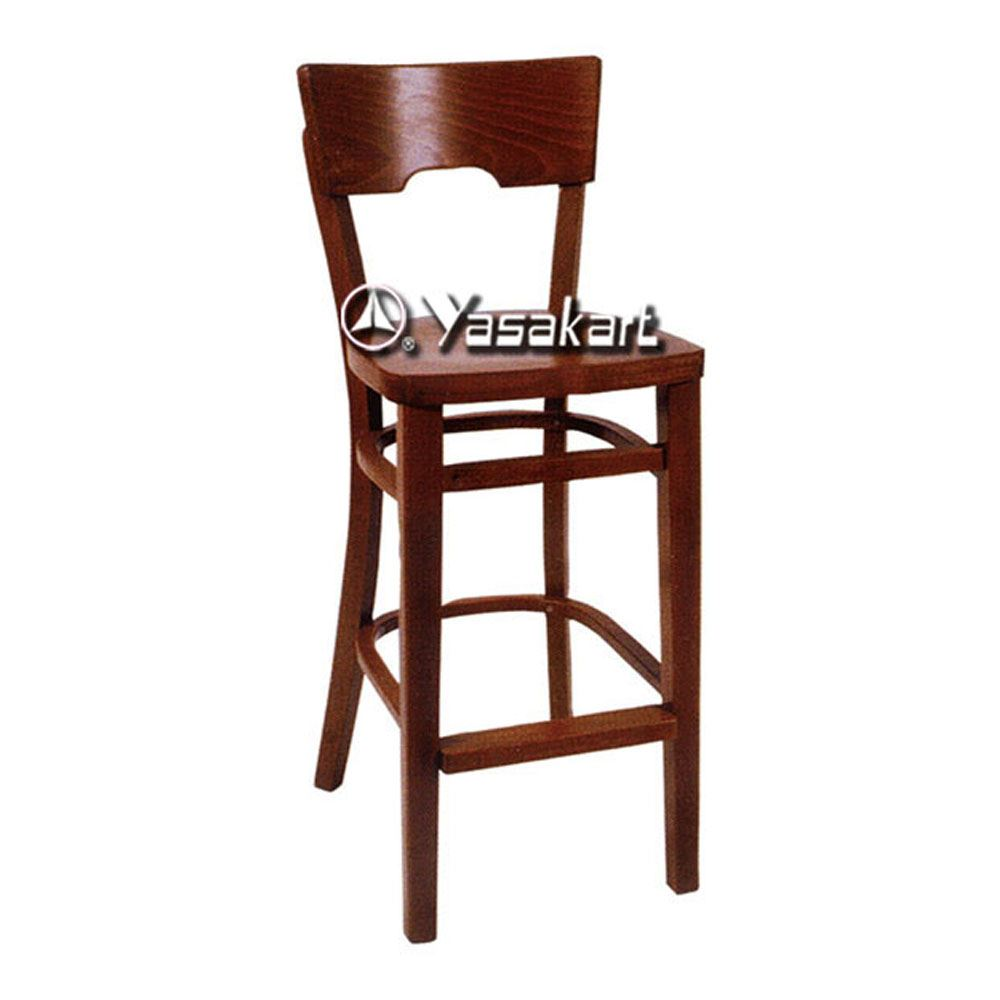 Picture Of 080 Medieval Wood Barstool