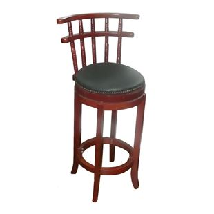 Picture of 4260 Tuscan Cafe Wood Swivel Barstool