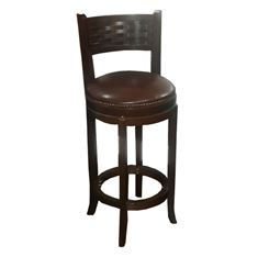 Picture of 4258 Horizon Wood Swivel Bar stool