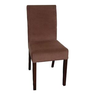 Picture of 2026 Atlanta Parsons Deluxe Leather Wood Side Chair