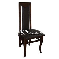 Picture of 2324w Flair Deluxe Leather Wood Side Chair