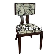 Picture of 3005 Fee Side Deluxe Leather Wood Side Chair