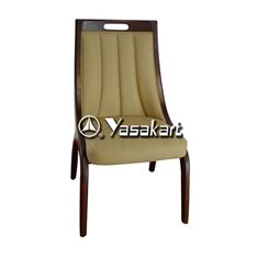 Picture of 3033 Kerringway Accent Leather Wood Side Chair