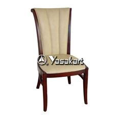 Picture of 3002 Molly Deluxe Leather Wood Side Chair