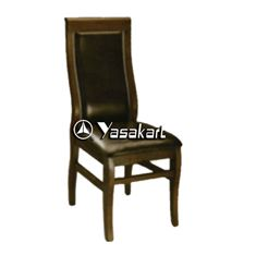 Picture of 003 Ribbed Uphosterly Wood Chair