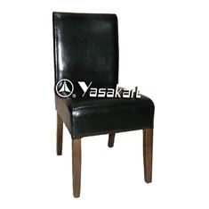 Picture of 2020 Cosmopolitan Deluxe Leather Wood Side Chair