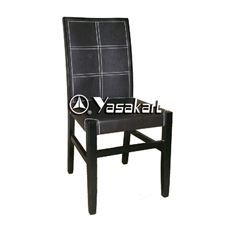 Picture of 2086 Bungalow Deluxe Leather Wood Side Chair