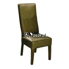Picture of CW3156 Pedro Parsons Leather Wood Side Chair