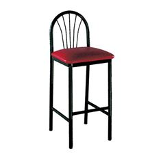 Picture of 042 Fanback Metal Barstool