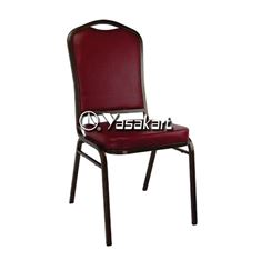 Picture of 120 Calhoun Convention Stacking chair w. Burgundy pattern