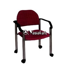 Picture of 148 Mariner BURGUNDY Fabric signature stacking chair