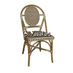 Picture of 262 Aluminum and Cane Bamboo French Side Chair