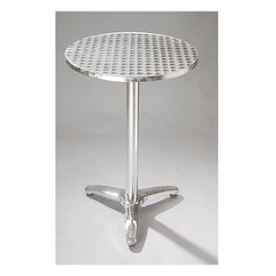 Standard Chair Round Aluminum Table Top With Base Restaurant - Table top for restaurant supply