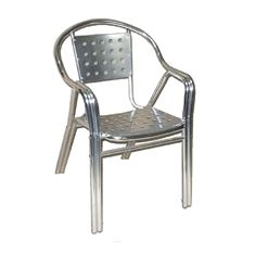 Picture of 261 Panel Back Stainless Steel Chair