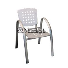 Picture of 163 Garen Breeze Aluminum Arm Chair