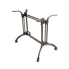 Picture of TB1027 Twins Tube Cast Iron Metal Table Base