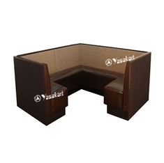 Picture of BTH3523 —— 3/4 square Booth