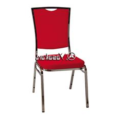 Picture of 136 Silhouse Stacking chair W. Red Pattern