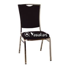 Picture of 136 Silhouse Stacking chair W. Black Pattern