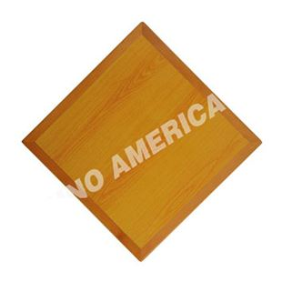 Picture of Wood-edged Formica Table Top WF2301B