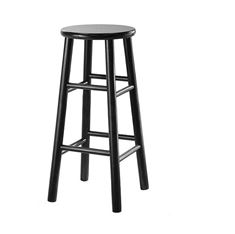 Picture of 007 Backless counter Stool (BLACK)