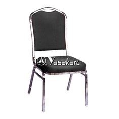 Picture of 117 Dome Padded Stacking Chair W. Black Pattern