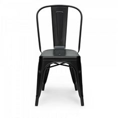 Picture of 1027 Kinsey BLACK Powder Coated Chair