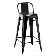 Picture of 1027 Kinsey BLACK Powder Coated Stool