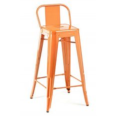 Picture of 1027 Kinsey ORANGE Powder Coated Stool