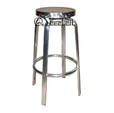 Picture of 011 Swivel Chrome Stool