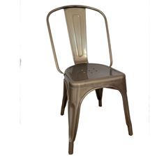 Picture of 1027 Kinsey GUNMETAL Powder Coated Chair
